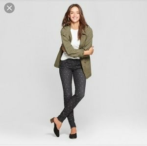Universal thread micro dot skinny jeans 4